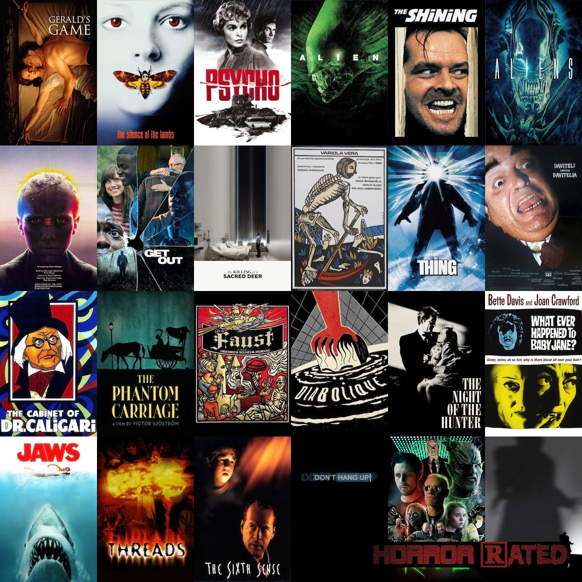 Top 100 Horror Movies of all Time | HorrorRated