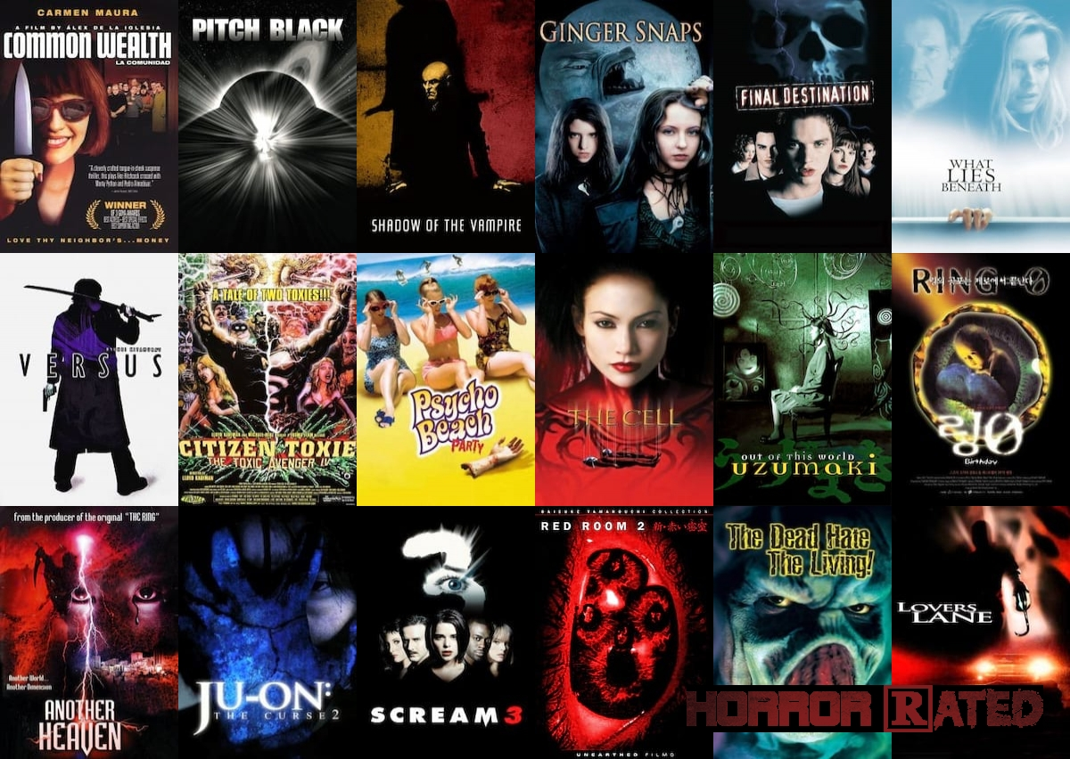 2000 - Top 20 Horror Movies | HorrorRated