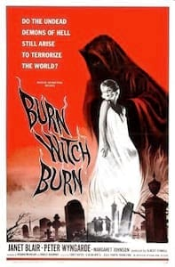 Burn, Witch, Burn poster