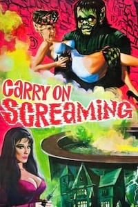Carry on Screaming! poster