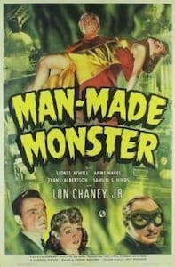 Man Made Monster poster