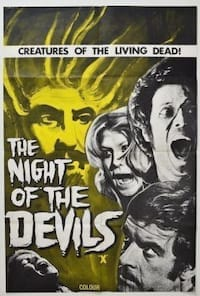 Night of the Devils poster