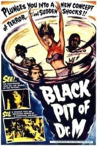 The Black Pit of Dr. M poster