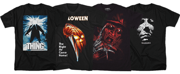 Horror Movie Tees