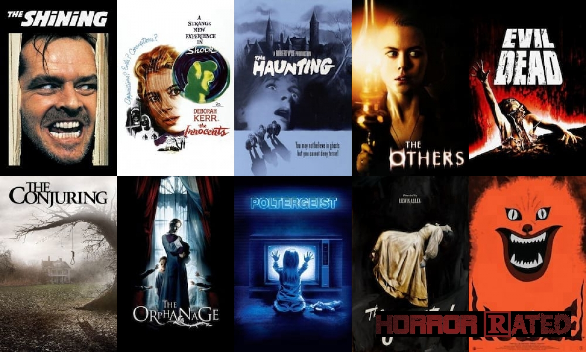 Top 10 Haunted House Horror Movies Of All Time Horrorrated